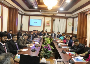 Visit by Young Diplomats from Bhutan & India